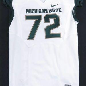 Jason Diehl Michigan State Spartans Nike Jersey